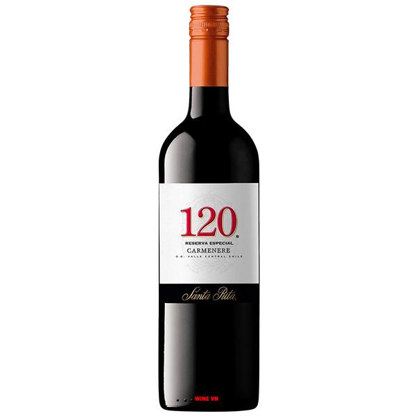 Rượu Vang Santa Rita 120 Reserva Special Carmenere