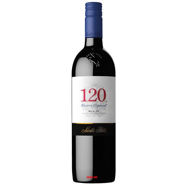 Rượu Vang Santa Rita 120 Reserva Special Merlot