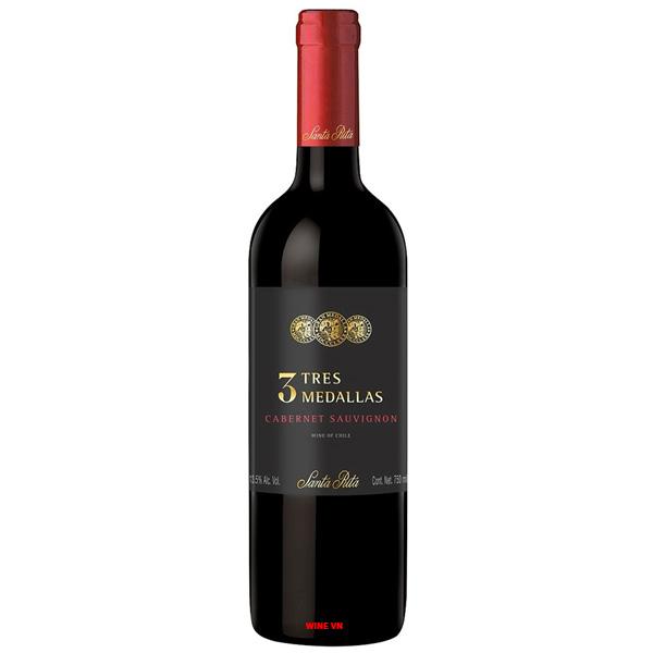 Rượu Vang Santa Rita 3 Tres Medallas