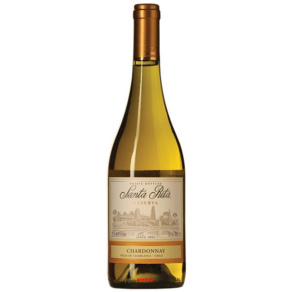 Rượu Vang Santa Rita Estate Reserva Chardonnay