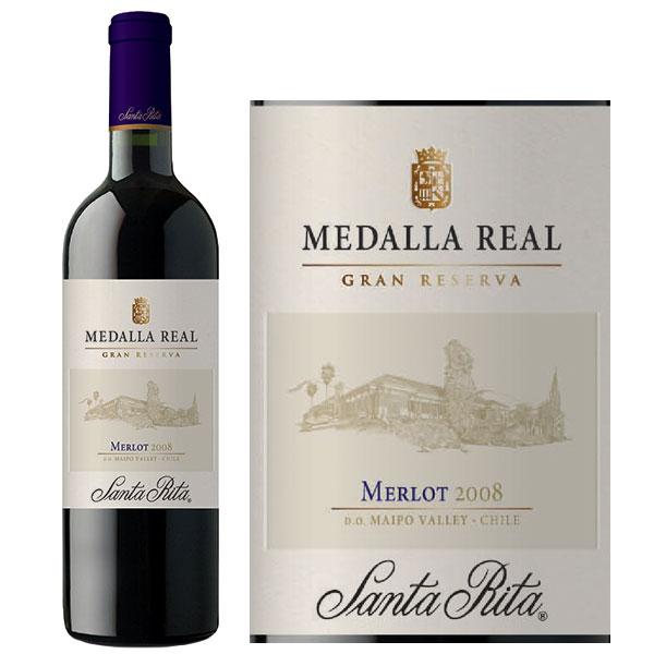 Rượu Vang Santa Rita Medalla Real Merlot