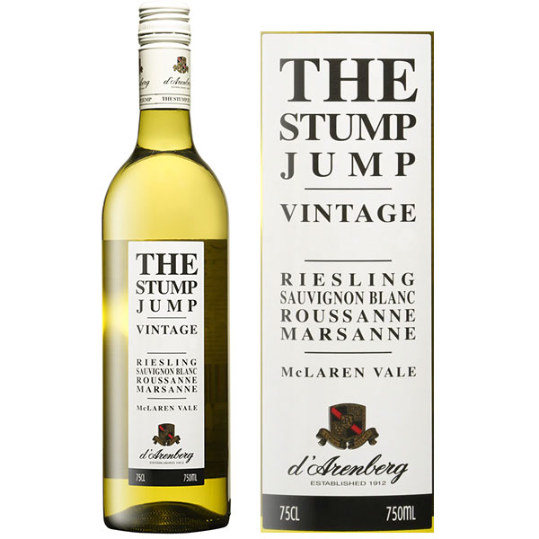 Rượu Vang The Stump Jump Riesling Sauvignon Roussanse Marsanne