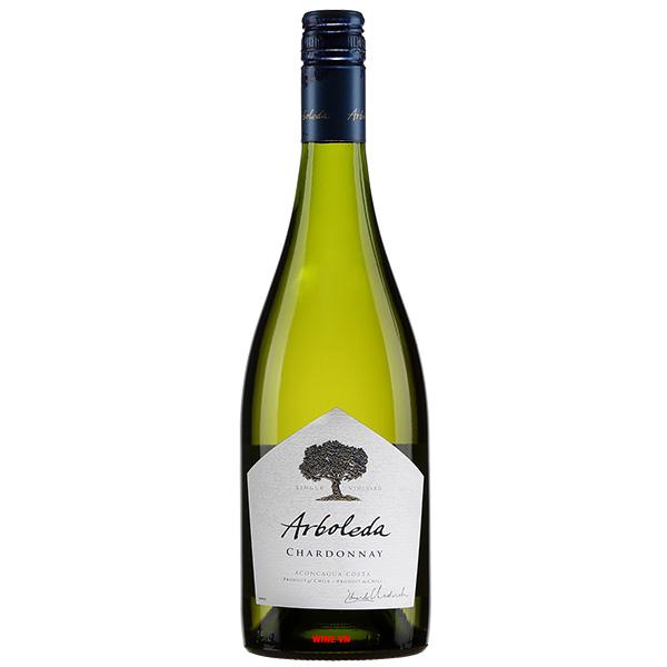 Rượu Vang Trắng Arboleda Chardonnay