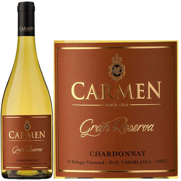 Rượu Vang Trắng Carmen Gran Reserva Chardonnay