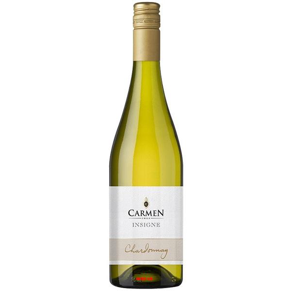 Rượu Vang Trắng Carmen Insigne Chardonnay