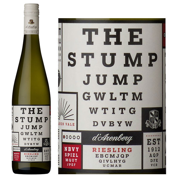 Rượu Vang Trắng D'Arenberg The Stump Jump Riesling