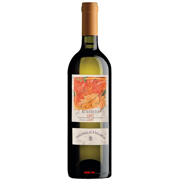 Rượu Vang Trắng Michele Chiarlo Rovereto Gavi