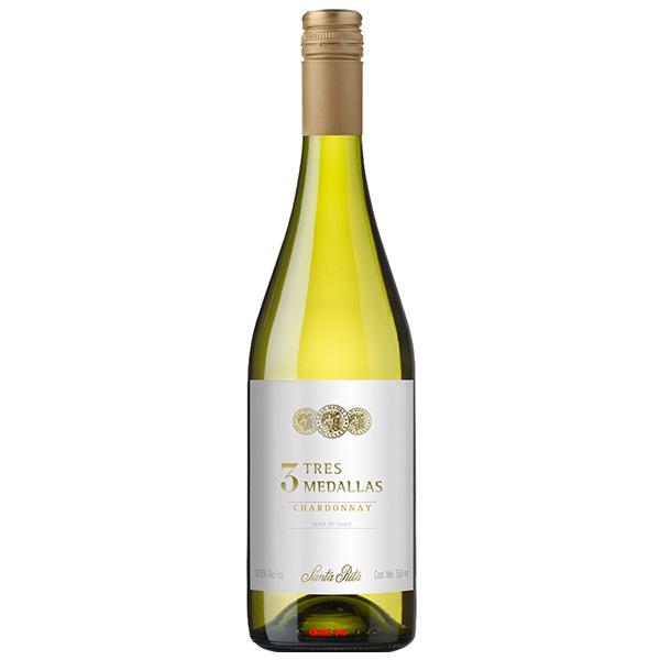 Rượu Vang Trắng Santa Rita 3 Tres Medallas Chardonnay