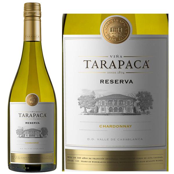 Rượu Vang Trắng Tarapaca Reserva Chardonnay