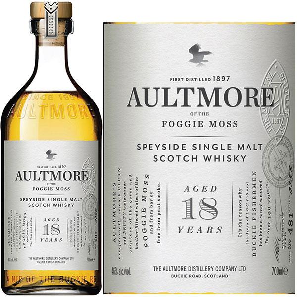 Rượu Aultmore 18 Years Old