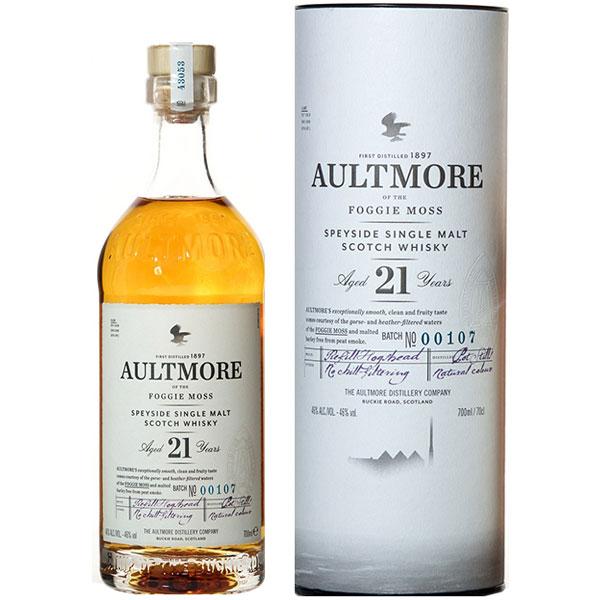 Rượu Aultmore 21 Years Old