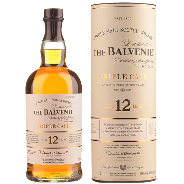 Rượu Balvenie 12 Triple Cask