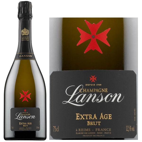Rượu Champagne Lanson Extra Age Brut