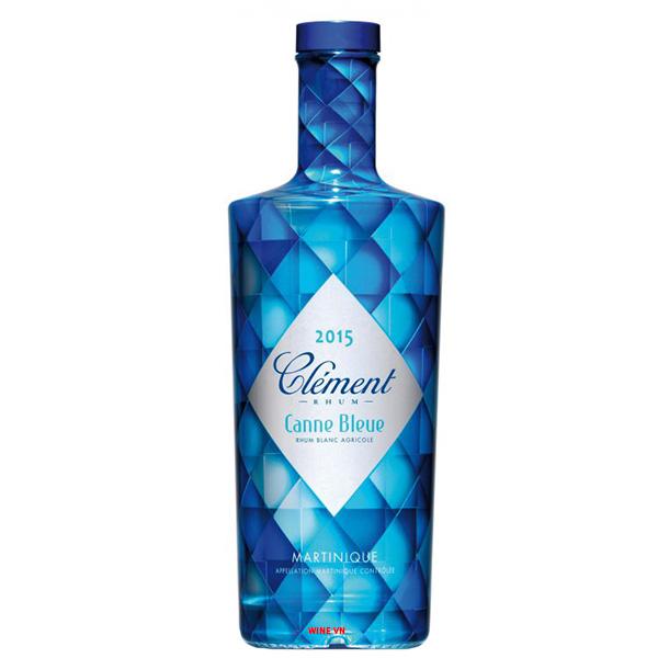 Rượu Clement Canne Bleue Rhum Blanc Agricole Martinique