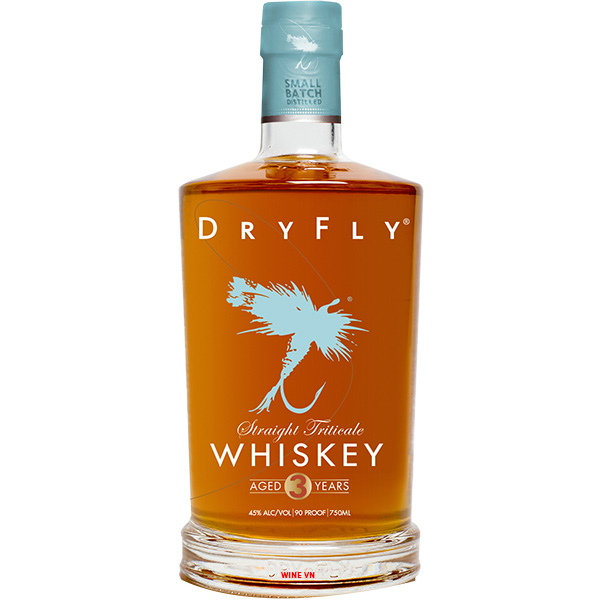 Rượu Dry Fly Straight Triticale Whiskey