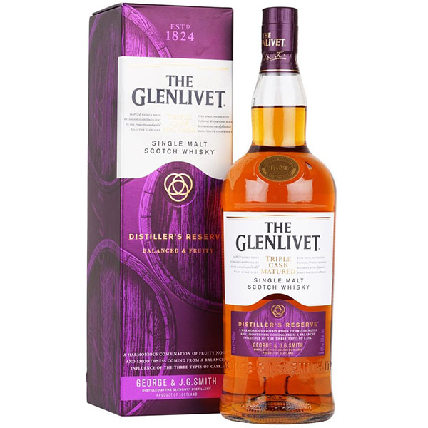 Rượu Glenlivet 1824 Distiller's Reserve