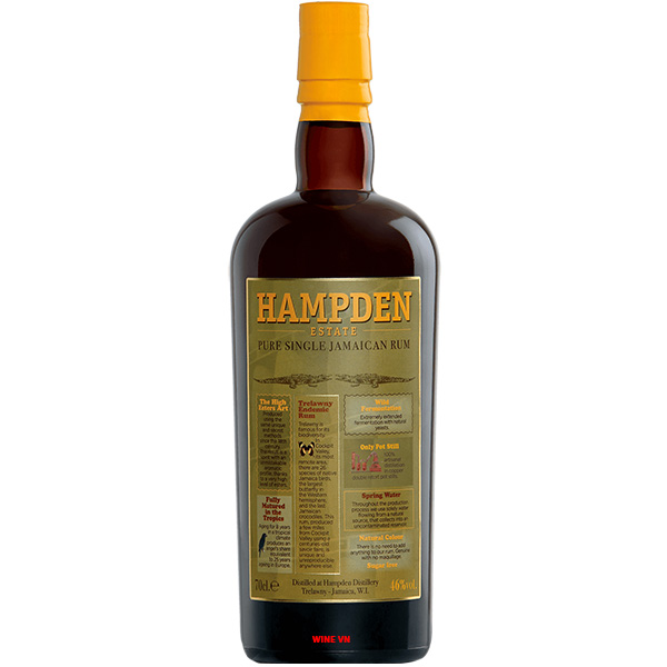Rượu Hampden Estate Pure Single Jamaican Rum