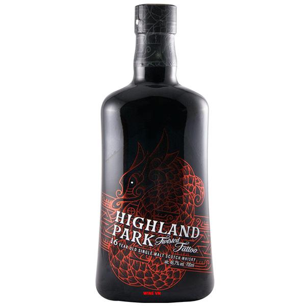 Rượu Highland Park 16 Twisted Tattoo