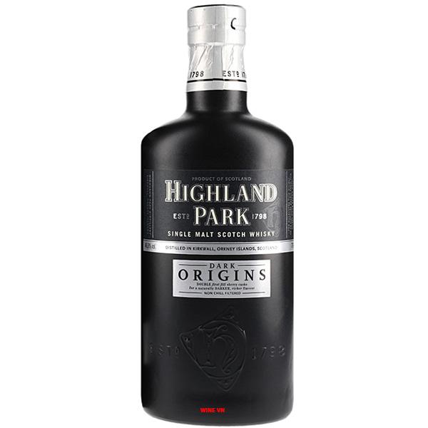 Rượu Highland Park Dark Origins