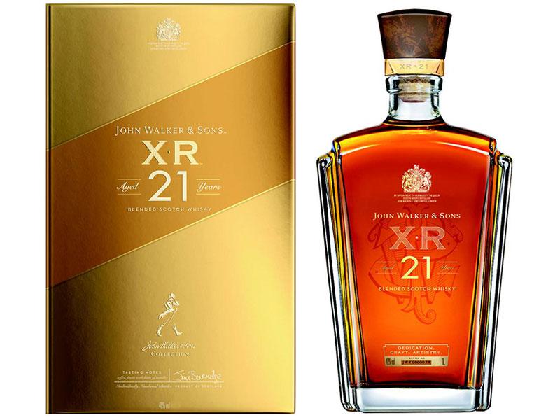 Rượu Johnnie Walker & Sons XR 21