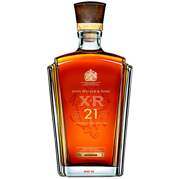 Rượu Johnnie Walker & Sons XR 21