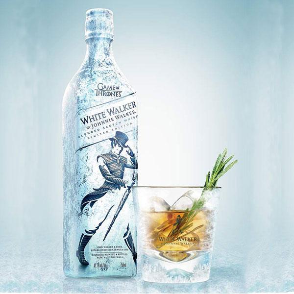 Rượu Johnnie Walker White Walker Limited Edition