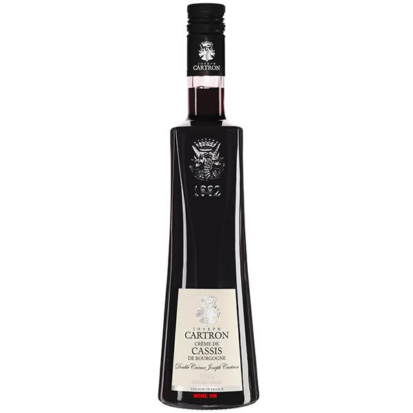 Rượu Joseph Cartron Double Crème De Cassis De Bourgogne