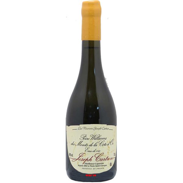 Rượu Joseph Cartron Eau-de-Vie Poire Williams Des Monts De La Cote d'or