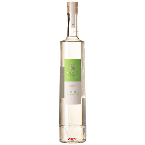 Rượu Joseph Cartron Eau-de-Vie Poire Williams