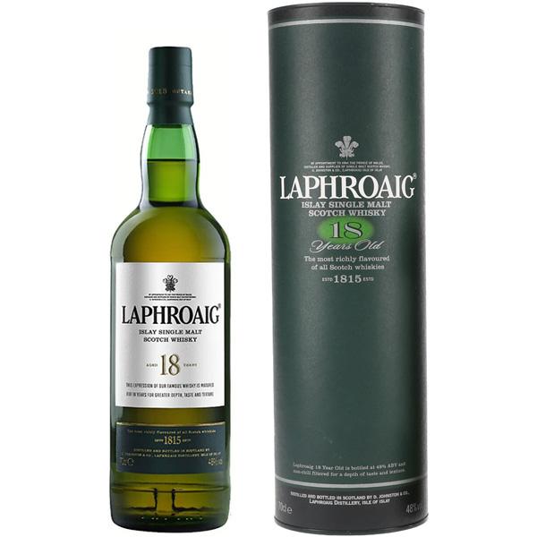 Rượu Laphroaig 18