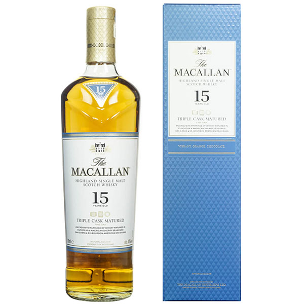 Rượu Macallan 15 Triple Cask