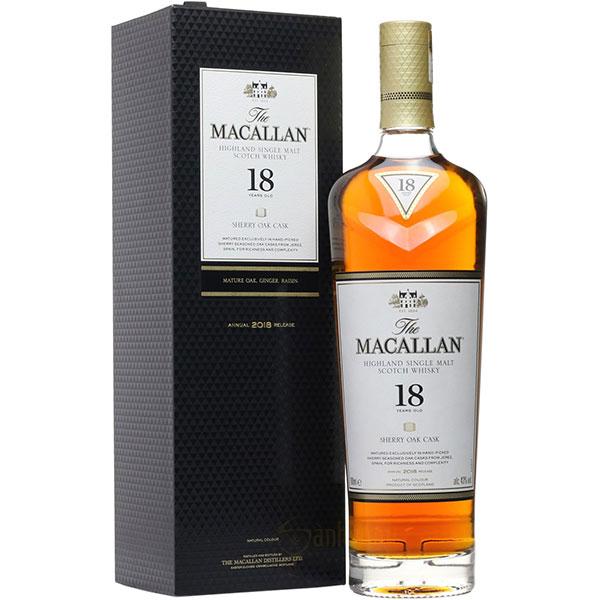 Rượu Macallan 18