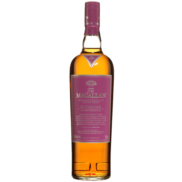 Rượu Macallan Edition No.5