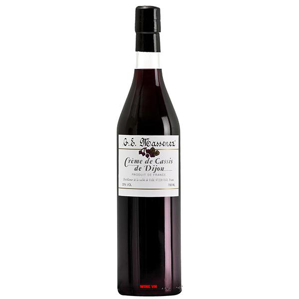 Rượu Massenez Crème De Cassis Blackcurrant Liqueur