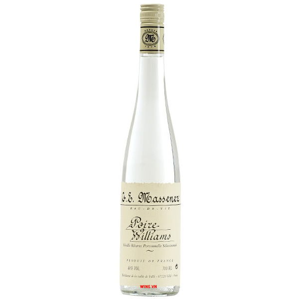 Rượu Massenez Poire Williams Pear