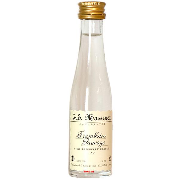 Rượu Massenez Wild Framboise Sauvage Raspberry