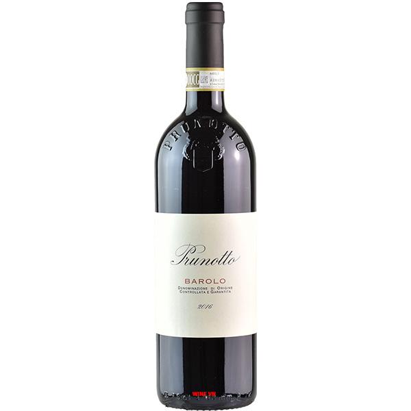 Rượu Prunotto Barolo