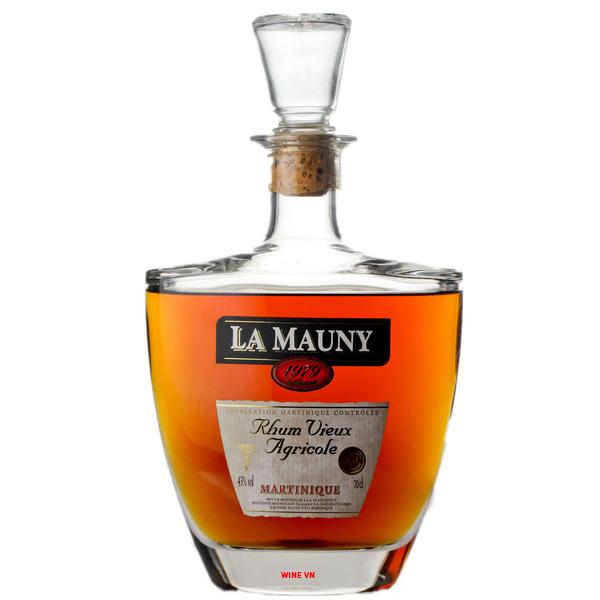 Rượu Rum La Mauny 1979