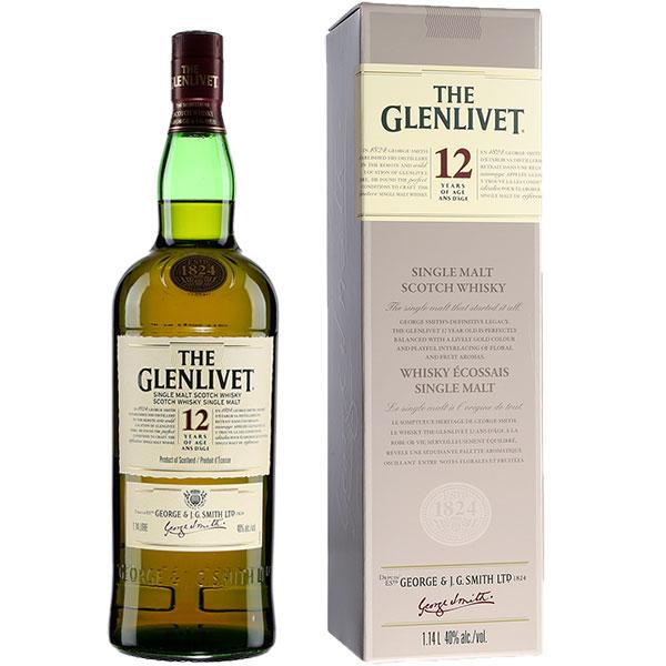 Rượu The Glenlivet 12