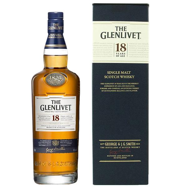 Rượu The Glenlivet 18 Years Old