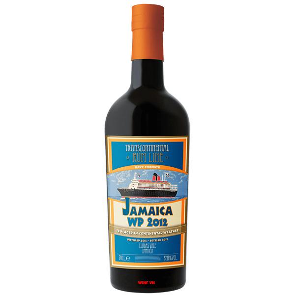 Rượu Transcontinental Rum LineJamaica Navy