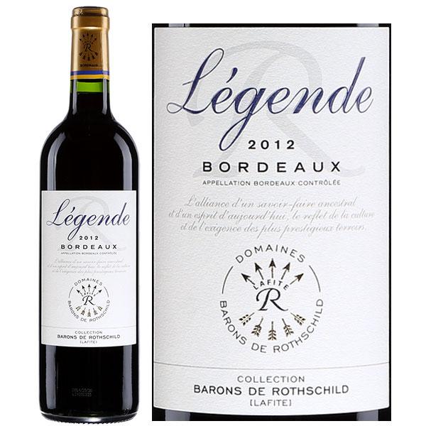Rượu Vang Đỏ Legende Bordeaux