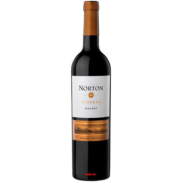 Rượu Vang Argentina Norton Reserva Malbec