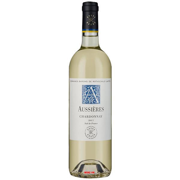 Rượu Vang Aussières Chardonnay