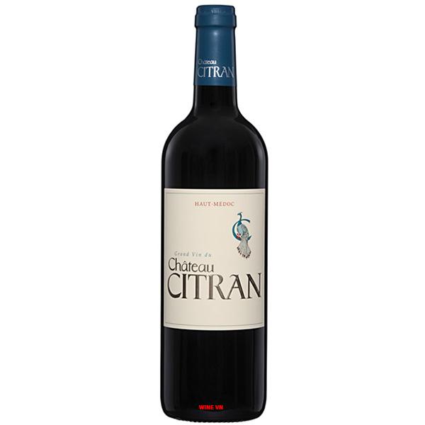 Rượu Vang Château Citran Haut Medoc
