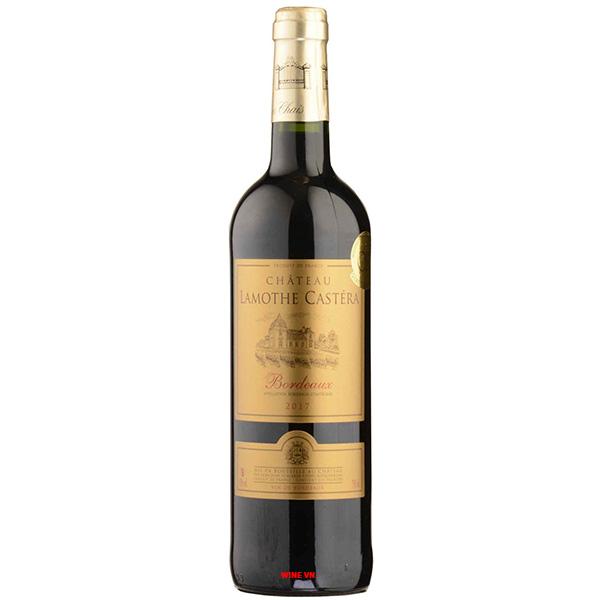 Rượu Vang Château Lamothe Castéra Bordeaux