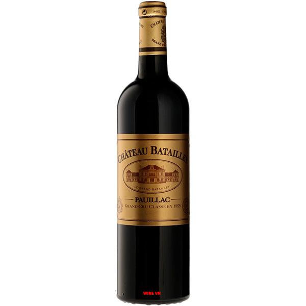 Rượu Vang Chateau Batailley Pauilac