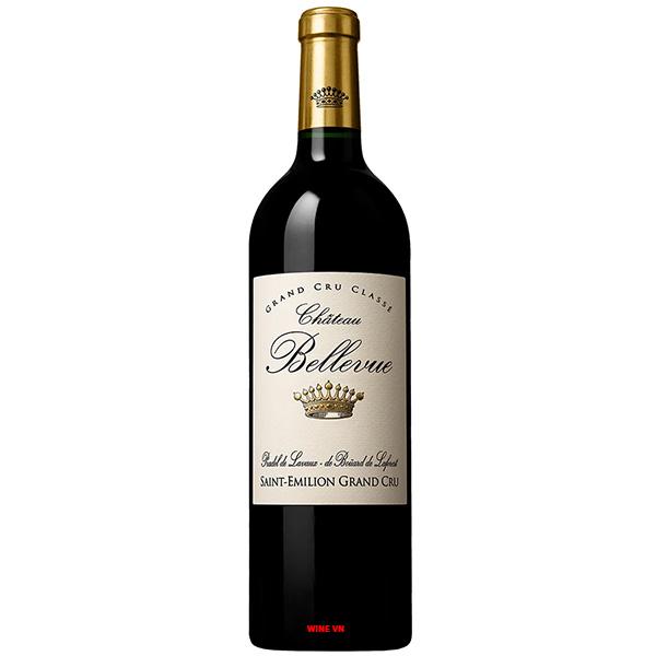 Rượu Vang Chateau Bellevue Saint Emilion Grand Cru
