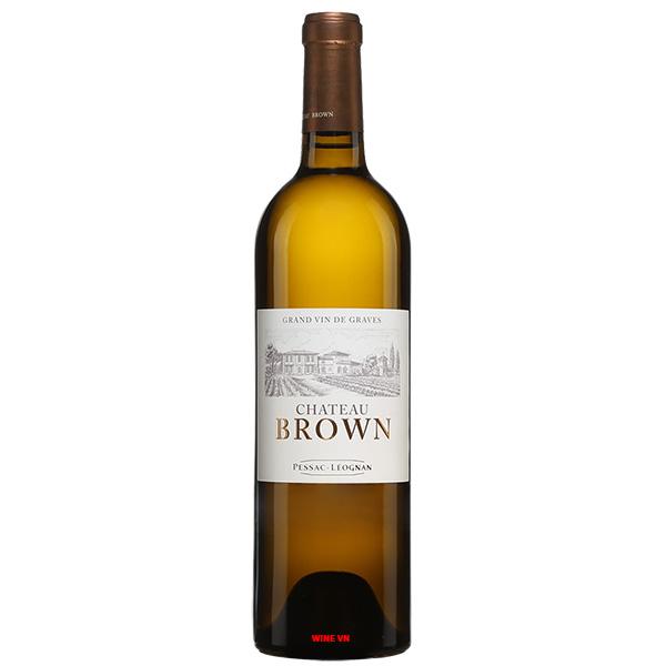 Rượu Vang Chateau Brown Blanc