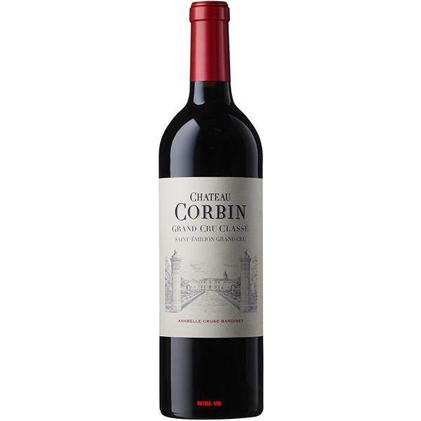 Rượu Vang Chateau Corbin Grand Cru Classe